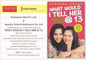 Kolkata book launch tomorrow!